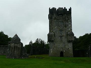 Hauptturm Aughnanure Castle
