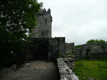 Wehrplattform Aughnanure Castle