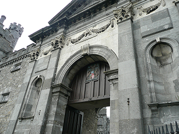 Eingang Kilkenny Castle