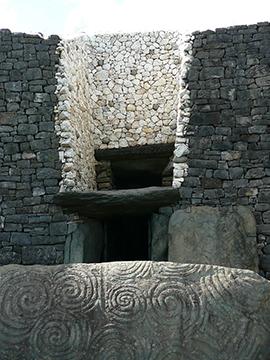 Eingang Newgrange