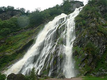 Powerscourt Wasserfall
