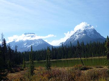 Berge Jasper National Park