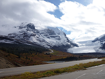 Blick Icefield Parkway