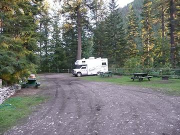Campground Echo Lake