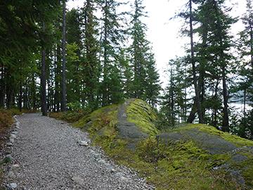 Wanderweg Lower Arrow Lake