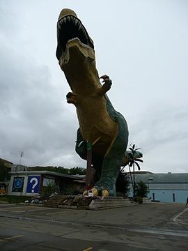 Weltgroesste Dinostatue Drumheller
