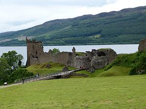 Ruinen Urquhart Castle
